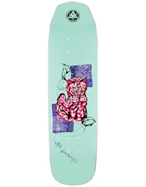Welcome Nora Loo Dood on Wicked Queen Skateboard Deck - 8.6
