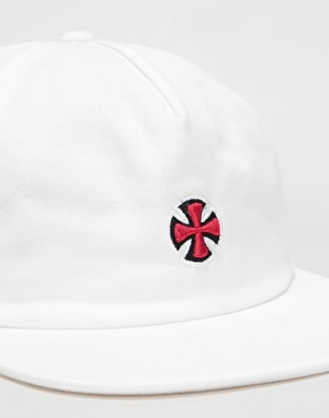 Independent Fort Strapback Cap - White