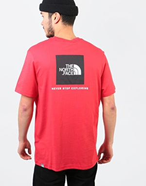 The North Face S/S Red Box T-Shirt - TNF Red