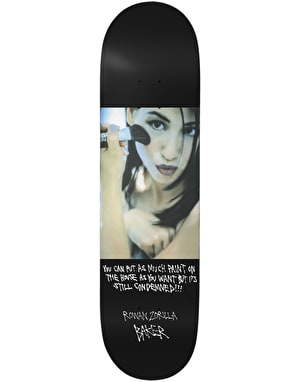 Baker Rowan Super Stock Skateboard Deck -  8.25