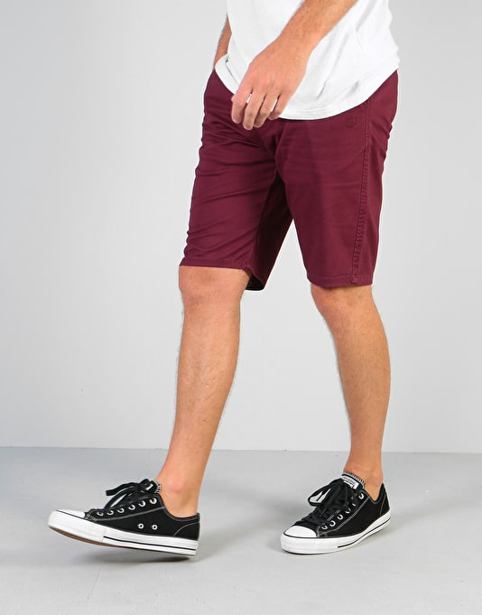 Element Howland Classic Walkshorts - Napa Red