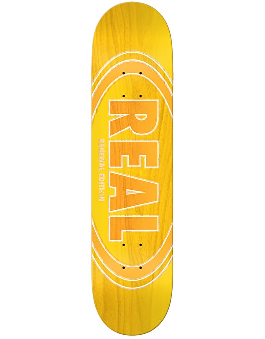 """Real Oval Duo Fades Skateboard Deck - 8.25"""""""
