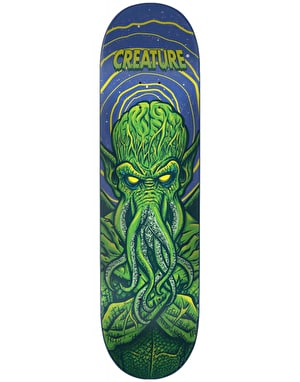 Creature Space Horrors Skateboard Deck - 7.75