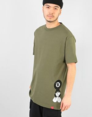 Chocolate 8 Ball T-Shirt - Military