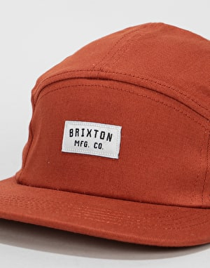 Brixton Hendrick 5 Panel Cap - Burnt Orange