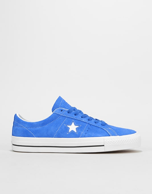Converse One Star Pro Ox Skate Shoes - Hyper Royal/White/Black