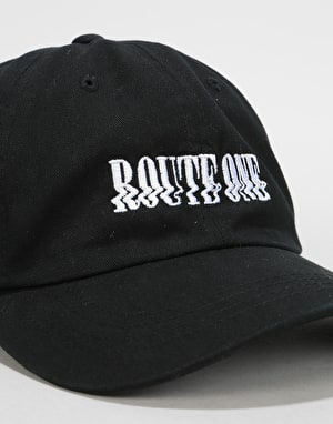 Route One Glitch Cap - Black