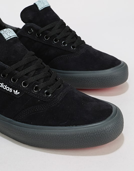 Adidas 3MC Skate Shoes - Core Black/White/Grey/Red