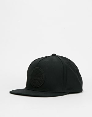 Herschel Supply Co. TM Snapback Cap - Black/Black