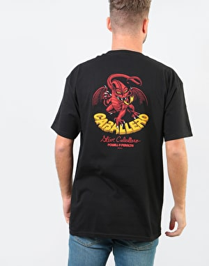 Powell Peralta Caballero Dragon T-Shirt - Black