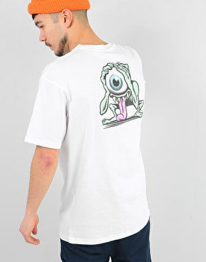 Santa Cruz Eyegore T-Shirt - White