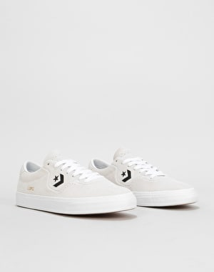 Converse Louie Lopez Pro Ox Skate Shoes - White/White/Black