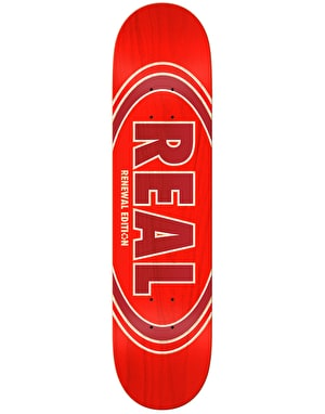 Real Oval Duo Fades Skateboard Deck - 8.06