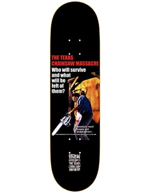Heroin x Texas Chainsaw Massacre Who Will Survive Skate Deck - 8.25