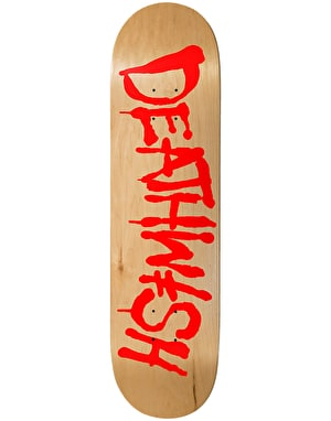 Deathwish Street Spray Natural Skateboard Deck - 8.475