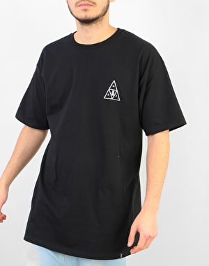 HUF Memorial Triple Triangle T-Shirt - Black