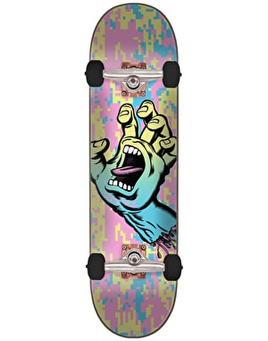 Santa Cruz Screaming Hand Camo Complete Skateboard - 8
