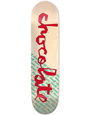 Chocolate Alvarez The Original Chunk Skateboard Deck - 8