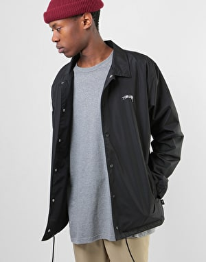 Stüssy Cruize Coach Jacket - Black