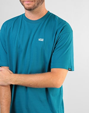 Vans Left Chest Logo T-Shirt - Corsair
