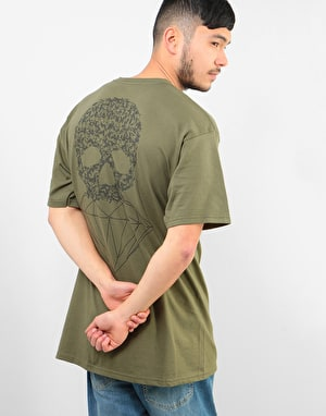 Diamond Fasten T-Shirt - Military Green