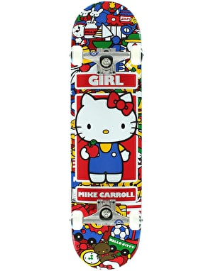 Girl x Sanrio Carroll Hella Kitty Complete Skateboard - 7.5