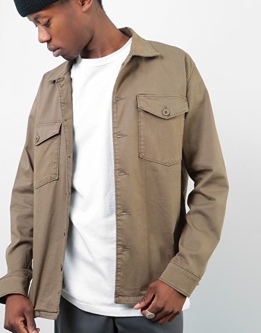Route One Military Shirt - Olive