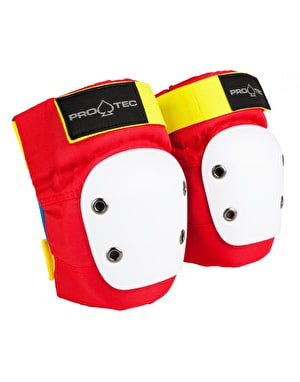 Pro-Tec Street Junior Knee Pads - Retro