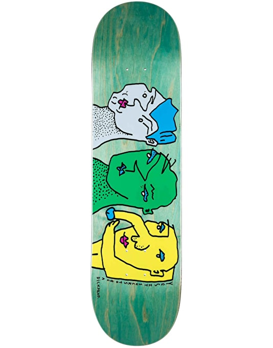Polar It Sucks to be a Dickhead Skateboard Deck - 8.25""