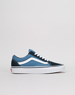 Vans Old Skool Womens Trainers - Navy