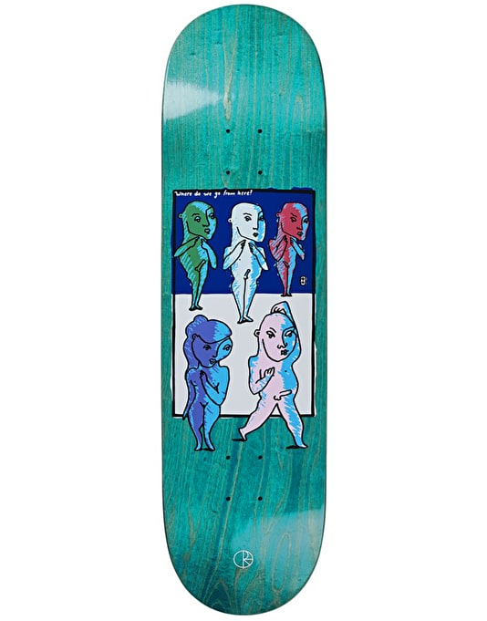 Polar Where Do We Go From Here Skateboard Deck - 8.5""