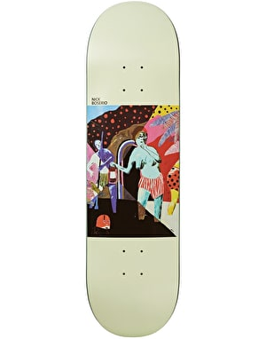 Polar Boserio What We Do Is Secret Skateboard Deck - 8.125