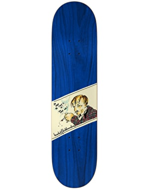 Krooked Smoking Skateboard Deck - 8.62