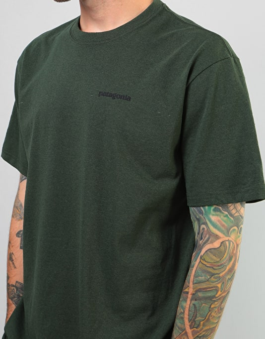 Patagonia Fitz Roy Trout T-Shirt - Nomad Green