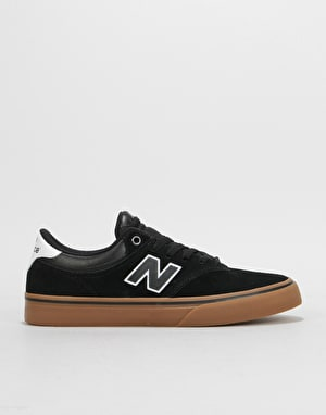 New Balance Numeric 255 Skate Shoes - Black/Gum