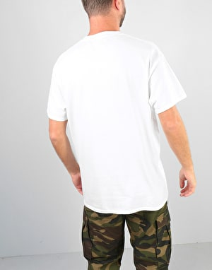 Route One Spectrum T-Shirt- White/Multi