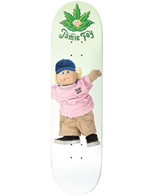 Deathwish Foy Cannapatch Kid Skateboard Deck - 7.875