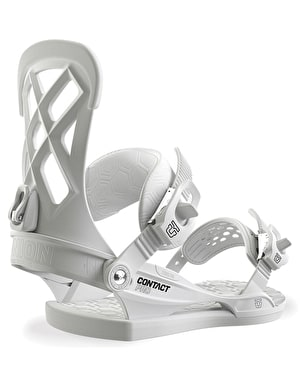 Union Contact Pro 2019 Snowboard Bindings - White