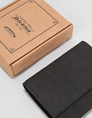 Dickies Owendale Leather Wallet - Black
