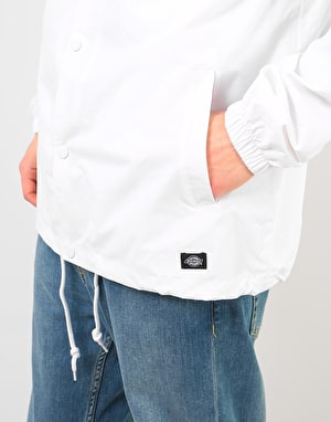 Dickies Torrance Coach Jacket - White