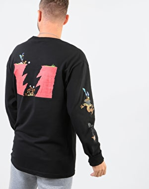 The Hundreds x Looney Tunes Acme L/S T-Shirt - Black