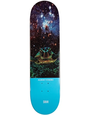 Sour Albert Turtle Skateboard Deck - 8.125