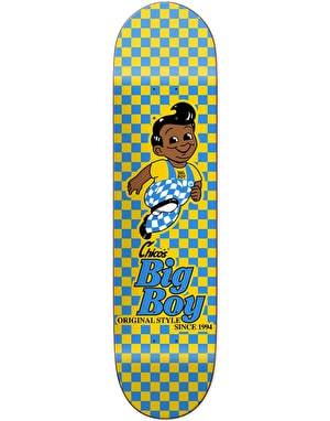 Chocolate Brenes Checker Skateboard Deck - 8.25