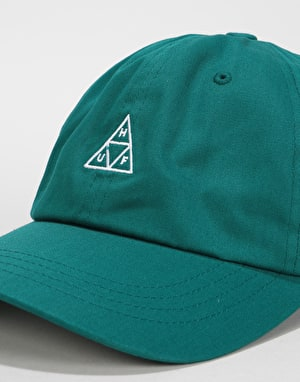 HUF Triple Triangle Curved Visor Cap - Jade