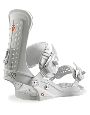 Union Team Force 2019 Snowboard Bindings - White