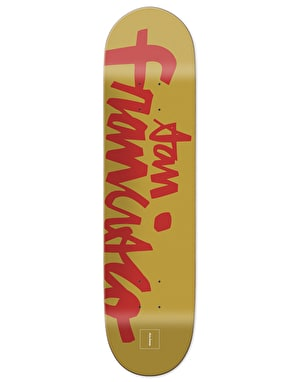 Chocolate Brenes Hometown Chunk Skateboard Deck - 8.25
