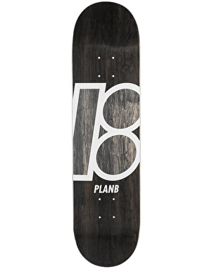 Plan B Team Stained Skateboard Deck - 8
