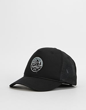 Element Emblem II Trucker Cap - Flint Black