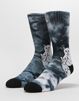 RIPNDIP Lord Nermal Socks  - Black Dye