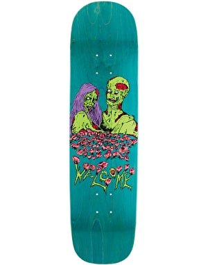 Welcome Zombie Love on Yung Nibiru Skateboard Deck - 8.25